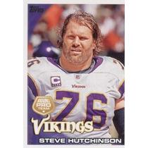2010 Topps All Pro Steve Hutchinson Minnesota Vikings
