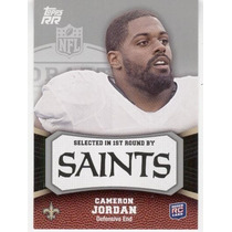 2011 Rising Rookies Cameron Jordan Rc New Orleans Saints