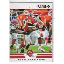 2012 Score Glossy #248 Jamaal Charles Jefes De Kansas City