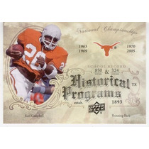 2011 Upper Deck Historical Programs Earl Campbell Texas