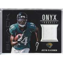 2012 Black Onyx Rookie Jersey Justin Blackmon /299 Jaguars