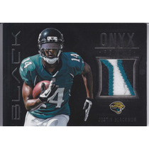 2012 Black Rookie 3color Patch Justin Blackmon 15/49 Jaguars