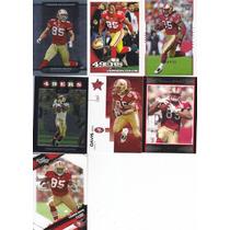 2007-2010 Lote 7 Tarjetas Diferentes Vernon Davis Te 49ers