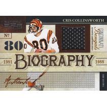 2009 Treasures Bio Jersey Cris Collinsworth Wr Bengals 47/50