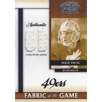 2008 Certified Fotg Position Jersey Steve Young 48/50 49ers