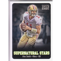 2012 Topps Magic Supernatural Stars Alex Smith Qb 49ers