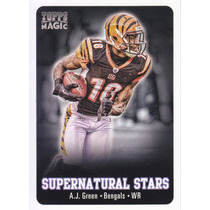 2012 Topps Magic Supernatural Stars A. J. Green Wr Bengals