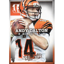 2013 Absolute Football Andy Dalton Cincinnati Bengals Qb