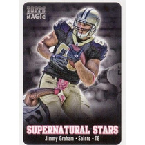 2012 Topps Magic Supernatural Stars Jimmy Graham Saints