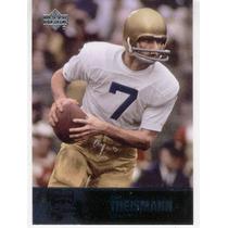 2011 U D College Legends Joe Theismann Fighting Irish Qb