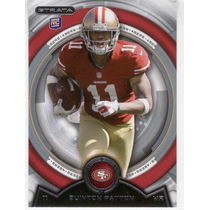 2013 Topps Strata Quinton Patton Rookie San Francisco 49ers