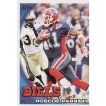 2010 Topps Roscoe Parrish Buffalo Bills