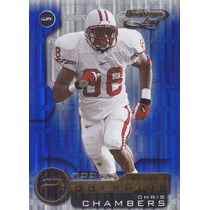 2001 Quantum Leaf Rookie Chris Chambers Wr Dolphins