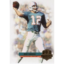 2012 Topps Qb Inmortals Bob Griese Miami Dolphins