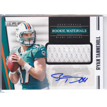 2012 Rs Rookie Jersey Autografo Ryan Tannehill /499 Dolphins
