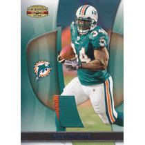 2009 Gridiron Gear Prime Jersey Ricky Williams Dolphins /50