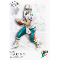 2011 Topps Legends Base Dan Marino Qb Dolphins