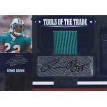 2007 Absolute Jersey Autografo Ronnie Brown Rb Dolphins 3/5