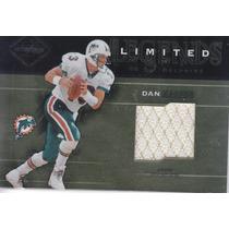 2003 Leaf Limited Legends Jersey Dan Marino Dolphins 29/50