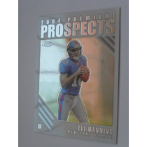 Manning Qb Topps Rookie Card 2004 $15dls Giants Rnt
