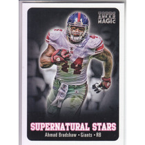 2012 Topps Magic Supernatural Stars Ahmad Bradshaw Rb Giants