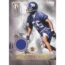 2001 Titanium Jerseys Jonathan Carter Jesse Palmer Giants