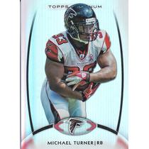 2012 Topps Base Platinum Michael Turner Rb Falcons