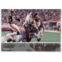 2003 Upper Deck Warrick Dunn Atlanta Falcons