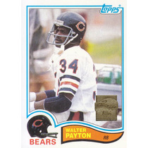 2001 Topps Reprint Walter Payton Rb Bears