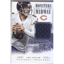 2014 Nat Treasures Monsters Midway Jersey Jay Cutler Chi /99
