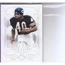 2014 National Treasures Silver Legend Gale Sayers Bears /25