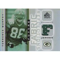2005 Reflections Future Fabric Jersey Terrence Murphy Packer