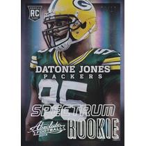 2013 Absolute Spectrum Platinum Rookie Datone Jones 8/10