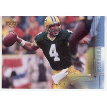 2000 Upper Deck Brett Favre Green Bay Packers