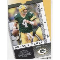 2003 Playoff Contenders Season Ticket Brett Favre Packers