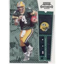 2000 Playoff Contenders Brett Favre Green Bay Packers