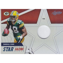 2011 Absolute Mem Sg Prime Jersey Rookie Randall Cobb Wr /50