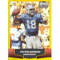 2004 Topps Dpp Gold Chrome Refractor Peyton Manning Qb Colts
