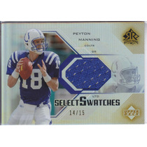 2004 Reflections Rainbow Jersey Peyton Manning Colts 14/15