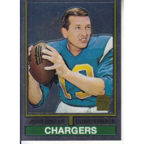 2000 Topps Chrome Reprint John Unitas Qb Colts