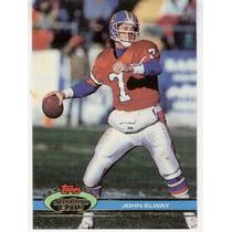 1991 Stadium Club John Elway Denver Broncos