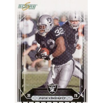 2006 Score Zach Crockett Oakland Raiders