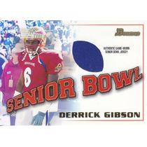 2001 Bowman Rookie Jersey Derrick Gibson Raiders
