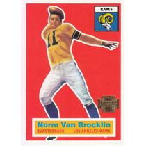 2001 Topps Archives Reprint Norm Van Brocklin Qb Rams
