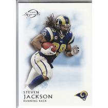 2011 Topps Legends Blue Thick Steven Jackson Rb Rams