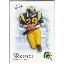 2011 Topps Legends Blue Thick Retired Eric Dickerson Rb Rams