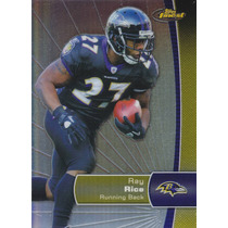 2012 Topps Finest Refractor Ray Rice Rb Baltimore Ravens