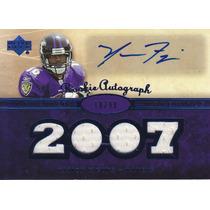 2007 Ud Premier Jersey Autografo Yamon Figurs Ravens