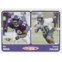 2003 Topps Total Ed Reed Corey Fuller Baltimore Ravens