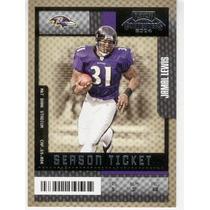 2004 Playoff Contenders Ticket Jamal Lewis Baltimore Ravens